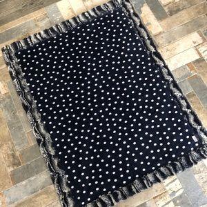 Sew sweet minky infant blanket.